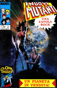 Cover Thumbnail for I Nuovi Mutanti (Play Press, 1989 series) #18
