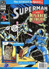 Cover Thumbnail for Superman (Egmont UK, 1988 series) #33