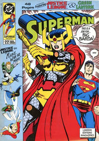 Cover Thumbnail for Superman (Egmont UK, 1988 series) #22