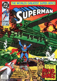 Cover Thumbnail for Superman (Egmont UK, 1988 series) #17