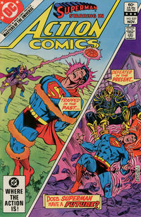 Cover Thumbnail for Action Comics (DC, 1938 series) #537 [Direct Sales]