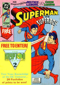 Cover Thumbnail for Superman (Egmont UK, 1988 series) #21