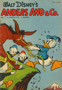 Cover Thumbnail for Anders And & Co. (Egmont, 1949 series) #4/1957