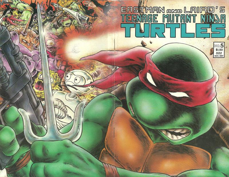Cover for Teenage Mutant Ninja Turtles (Mirage, 1984 series) #5