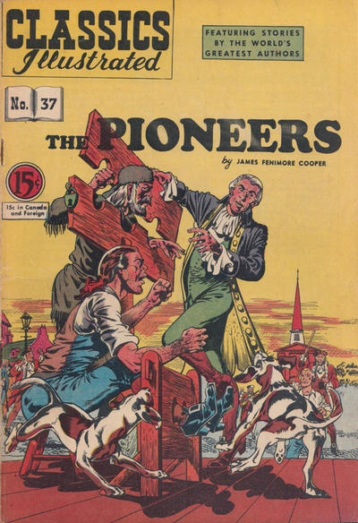 Cover for Classics Illustrated (Gilberton, 1948 series) #37