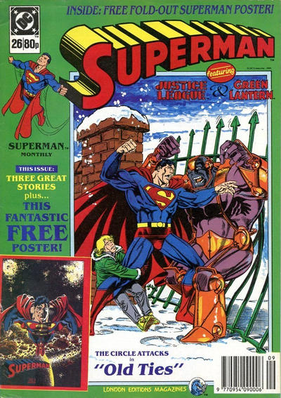 Cover for Superman (Egmont UK, 1988 series) #26