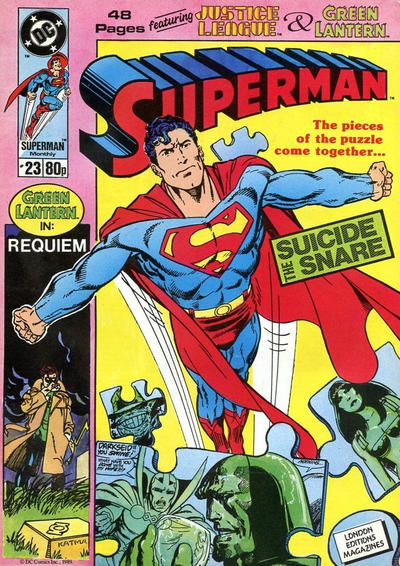 Cover for Superman (Egmont UK, 1988 series) #23