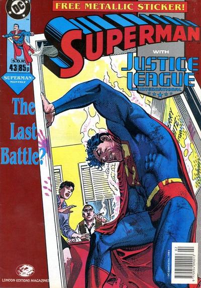 Cover for Superman (Egmont UK, 1988 series) #43