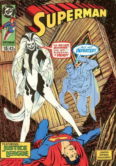 Cover for Superman (Egmont UK, 1988 series) #16