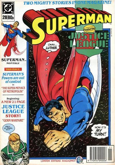 Cover for Superman (Egmont UK, 1988 series) #28