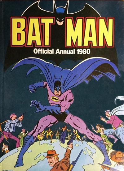 Cover for Batman Annual (Egmont UK, 1979 series) #1980