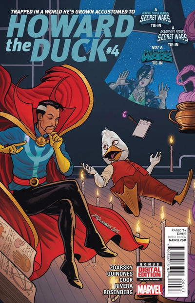 Cover for Howard the Duck (Marvel, 2015 series) #4 [Variant Edition - 'Gwen The Duck' - Jason Latour Cover]