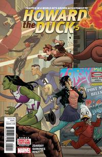 Cover Thumbnail for Howard the Duck (Marvel, 2015 series) #5