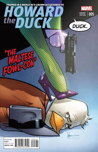 Cover Thumbnail for Howard the Duck (Marvel, 2015 series) #5 [Variant Edition - Howard Chaykin Cover]