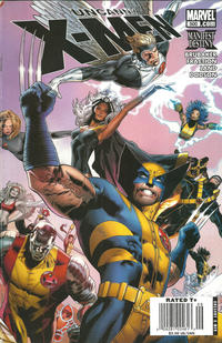 Cover Thumbnail for The Uncanny X-Men (Marvel, 1981 series) #500 [Greg Land Newsstand Cover]