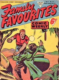 Cover Thumbnail for Family Favourites (L. Miller & Son, 1954 series) #22