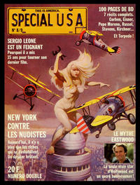Cover Thumbnail for L'Echo des Savanes Spécial USA (Edition des Savanes, 1983 series) #8 / 9