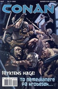 Cover Thumbnail for Conan (Bladkompaniet / Schibsted, 1990 series) #9/2005