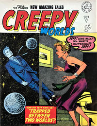 Cover Thumbnail for Creepy Worlds (Alan Class, 1962 series) #91
