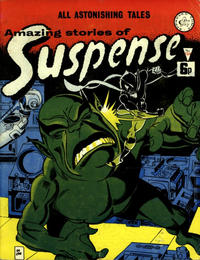Cover Thumbnail for Amazing Stories of Suspense (Alan Class, 1963 series) #124
