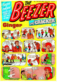 Cover Thumbnail for The Beezer and Cracker (D.C. Thomson, 1976 series) #1163