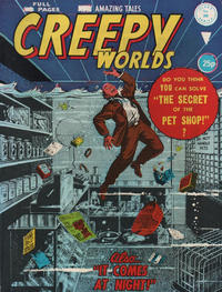 Cover Thumbnail for Creepy Worlds (Alan Class, 1962 series) #206
