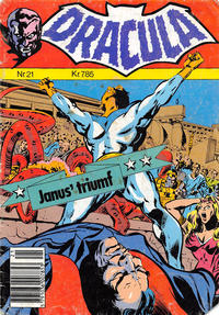 Cover for Dracula (Winthers Forlag, 1982 series) #21