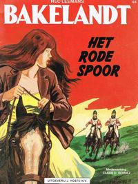 Cover Thumbnail for Bakelandt (Standaard Uitgeverij, 1993 series) #44