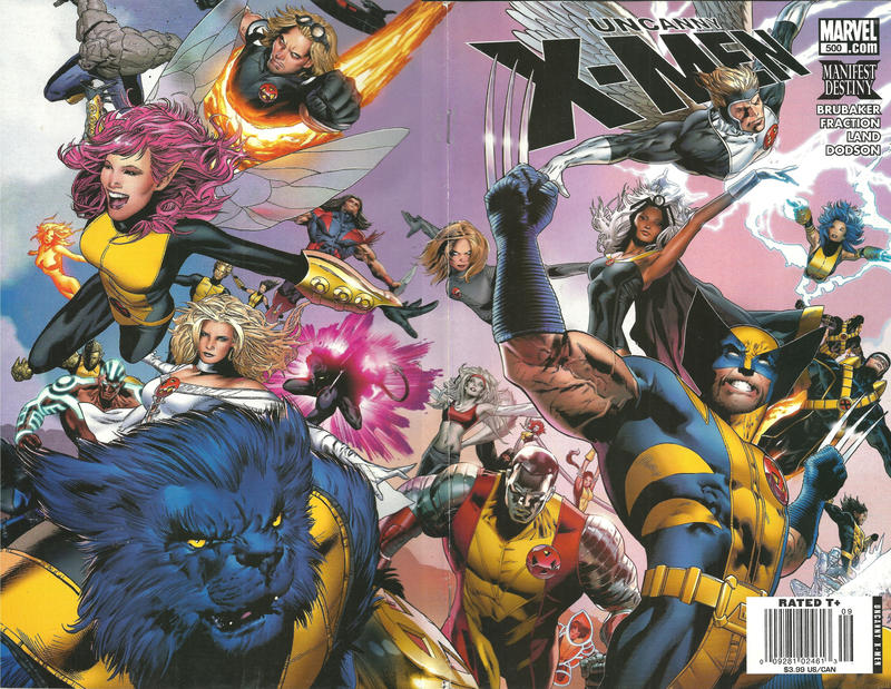 Cover for The Uncanny X-Men (Marvel, 1981 series) #500 [Dynamic Forces Online Variant]