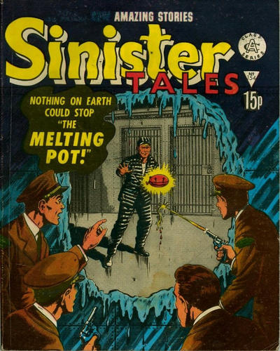 Cover for Sinister Tales (Alan Class, 1964 series) #154