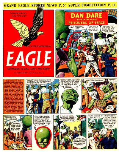 Cover for Eagle (Hulton Press, 1950 series) #v6#6