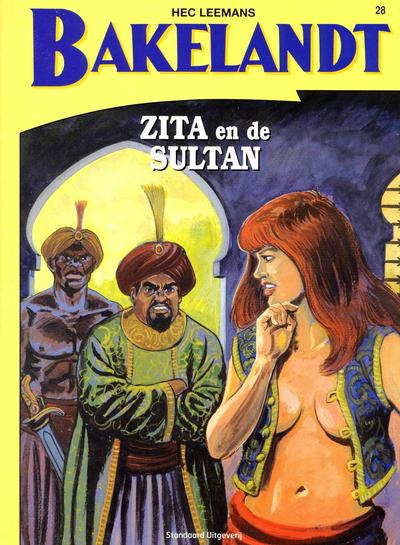 Cover for Bakelandt (Standaard Uitgeverij, 1993 series) #28
