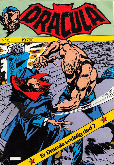 Cover for Dracula (Winthers Forlag, 1982 series) #13