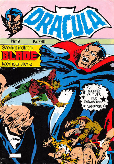 Cover for Dracula (Winthers Forlag, 1982 series) #19