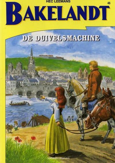 Cover for Bakelandt (Standaard Uitgeverij, 1993 series) #46