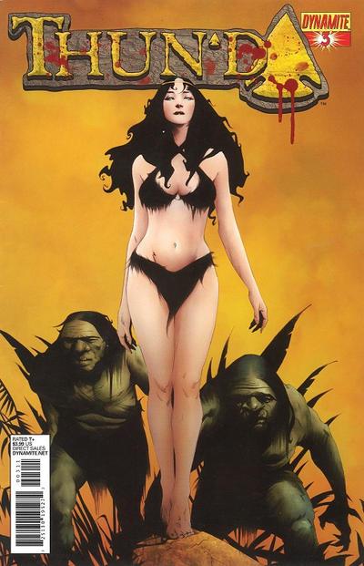 Cover for Thun'da (Dynamite Entertainment, 2012 series) #3