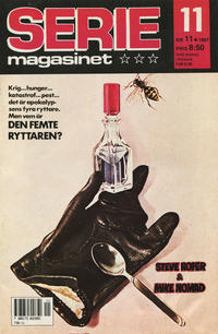 Cover Thumbnail for Seriemagasinet (Semic, 1970 series) #11/1987