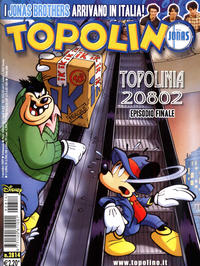 Cover Thumbnail for Topolino (The Walt Disney Company Italia, 1988 series) #2814