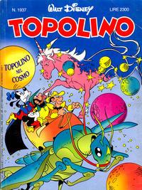 Cover Thumbnail for Topolino (Disney Italia, 1988 series) #1937