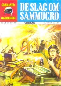 Cover Thumbnail for Commando Classics (Classics/Williams, 1973 series) #22