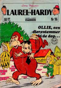 Cover Thumbnail for Laurel en Hardy (Classics/Williams, 1963 series) #96
