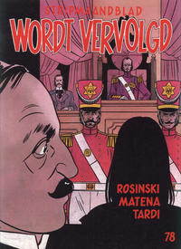 Cover Thumbnail for Wordt Vervolgd (Casterman, 1980 series) #78