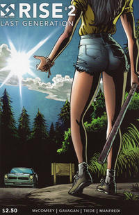 Cover Thumbnail for Rise (Double Take, 2015 series) #2
