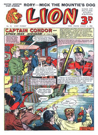 Cover Thumbnail for Lion (Amalgamated Press, 1952 series) #76