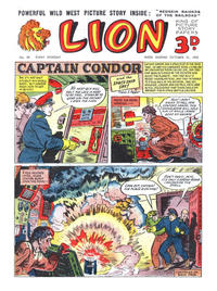 Cover Thumbnail for Lion (Amalgamated Press, 1952 series) #89