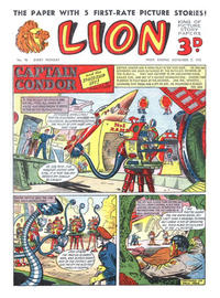 Cover Thumbnail for Lion (Amalgamated Press, 1952 series) #90