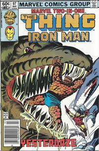 Cover Thumbnail for Marvel Two-in-One (Marvel, 1974 series) #97 [Newsstand]