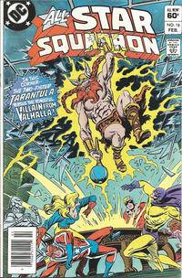 Cover Thumbnail for All-Star Squadron (DC, 1981 series) #18 [Newsstand]