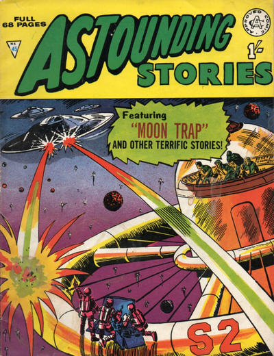 Cover for Astounding Stories (Alan Class, 1966 series) #45