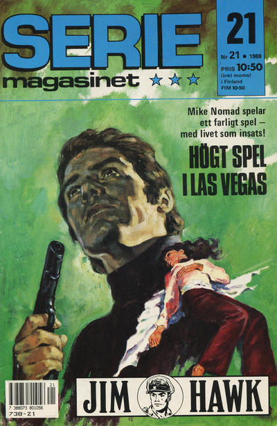 Cover for Seriemagasinet (Semic, 1970 series) #21/1988